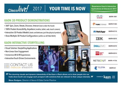 Cisco Live! handout