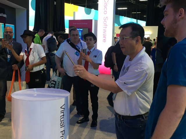 Cisco Live Augmented Reality with Kaon AR