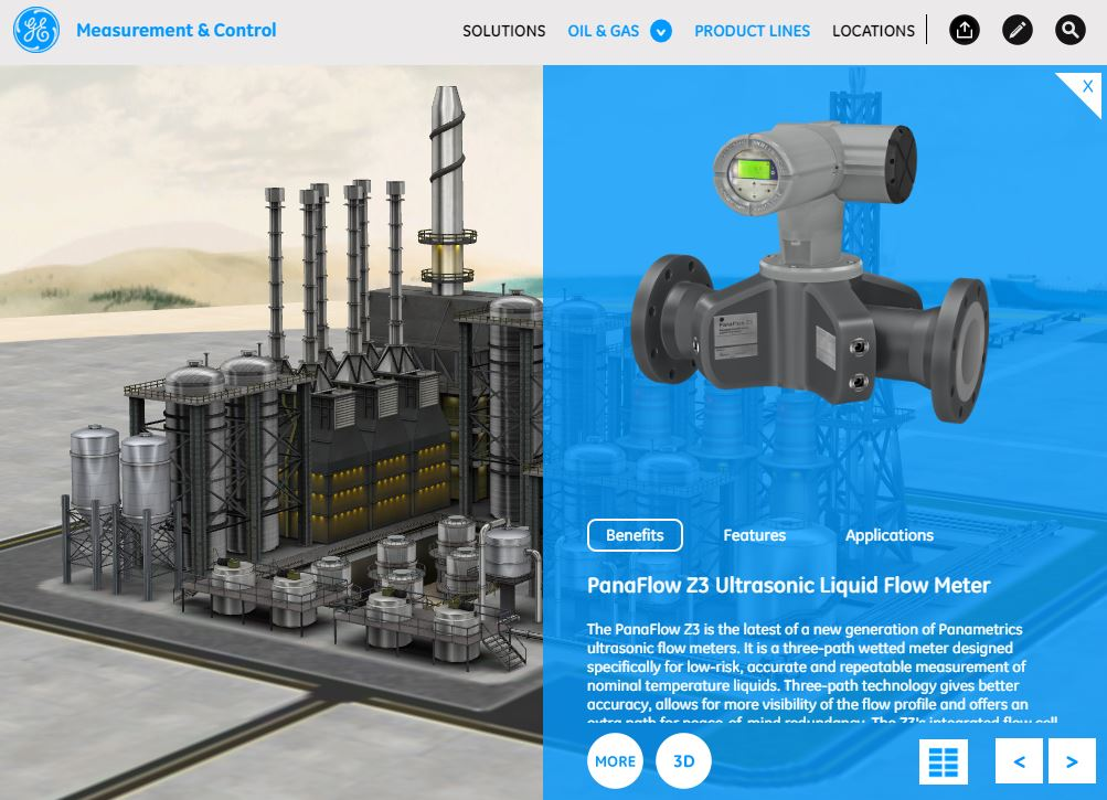 BHGE M and C Application Refinery Product Example