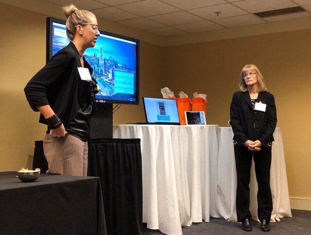Siemens Industry Application Demo at Kaon Marketing Innovation Seminar in Lincolnshire / Chicago 2019
