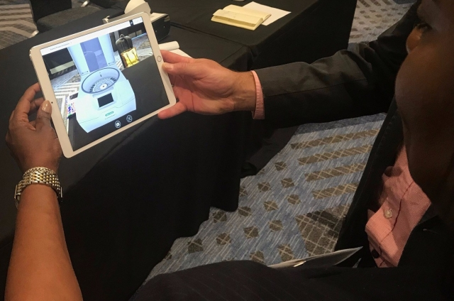 Bio-Rad Laboratories Augmented Reality (AR) Demo at Kaon Marketing Innovation Seminar in Santa Clara 2019