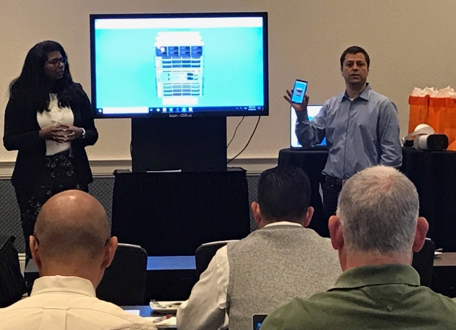 Cisco Application Demo at Kaon Marketing Innovation Seminar in Santa Clara 2019