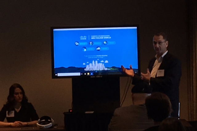 Cisco Multicloud Demo at Kaon Marketing Innovation Seminar in Waltham / Boston 2019