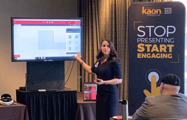Thermo Fisher Scientific Lab Design Tool Demo at Kaon Marketing Innovation Seminar in Waltham / Boston 2019