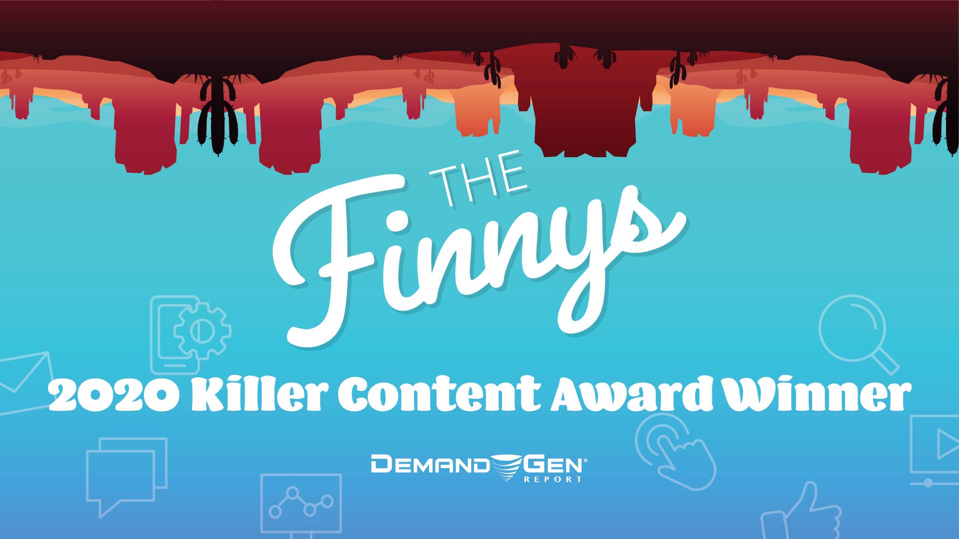 The Finnys: 2020 Killer Content Award Winner, Interactive Content, DXC Technology & Kaon Interactive