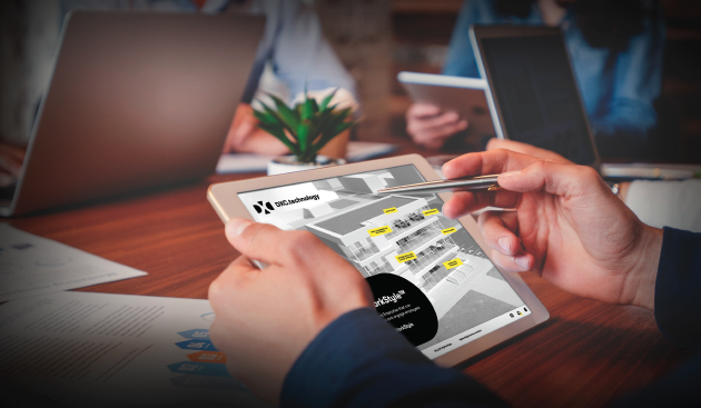 DXC Technology interactive application