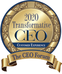 CEO Forum 2020 Transformative CEO Customer Experience Award